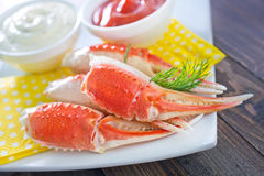 Crab claws Royalty Free Stock Image