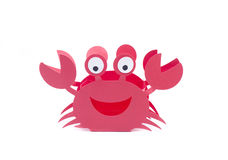 Crab craft red Stock Photography