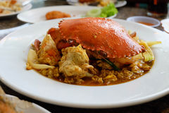 Crab Curry. Stock Photography