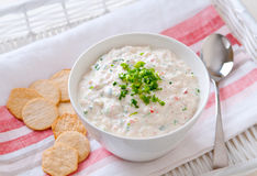 Crab dip Stock Photography