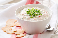 Crab dip Royalty Free Stock Image