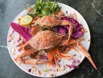 Crab dish Stock Photos