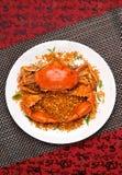 Crab dish Royalty Free Stock Images