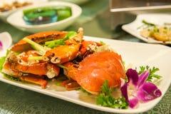 Crab dish Royalty Free Stock Image