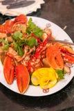 Crab dish Stock Photo