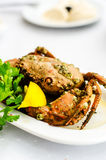 Crab dish Royalty Free Stock Photo