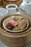 Crab fish maw chicken dim sum Royalty Free Stock Photos
