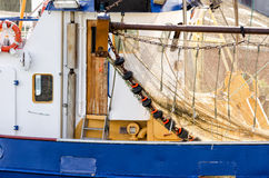 Crab fishing boat Stock Image