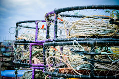 Crab Fishing Gear Royalty Free Stock Photo