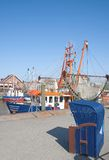 Neuharlingersiel,North Sea,Germany Royalty Free Stock Photography