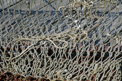 Crab Fishing Nets on the Chesapeake bay Stock Image
