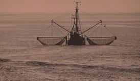 Crab Fishing,North Sea royalty free stock photos
