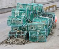 Crab Fishing Pots. Stock Images