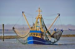 Crab Fishing Trawler,East Frisia,wadden Sea,Germany Royalty Free Stock Images
