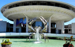 Crab Fountain Stock Photos