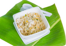 Crab fried rice Royalty Free Stock Images