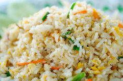 Crab Fried Rice. Thai cuisine royalty free stock photography
