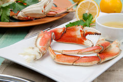 Crab Legs Appetizer Stock Photography