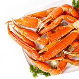 Crab legs Stock Photography