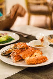Crab Legs with Shell. Stock Images