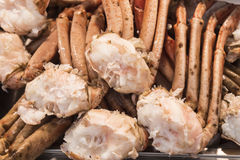 Crab legs, shellfish Royalty Free Stock Photo