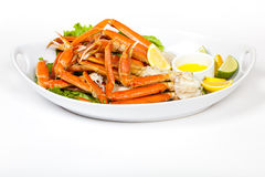 Crab legs Royalty Free Stock Photos