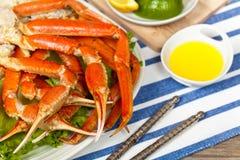 Crab legs Stock Photos