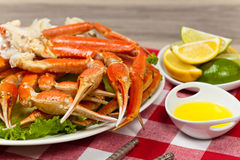 Crab legs Stock Photos