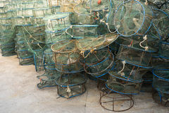 Crab or lobster trap Royalty Free Stock Photography