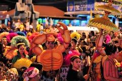 Crab Man at Yogyakarta city festival parade Royalty Free Stock Photography