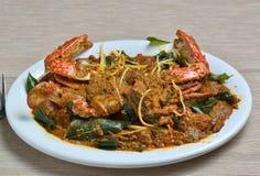 Crab Masala Royalty Free Stock Photography