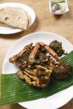 Crab Masala from Kerala, India Royalty Free Stock Photos