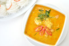 Crab Meat Curry Royalty Free Stock Images