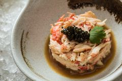 Crab meat Royalty Free Stock Images