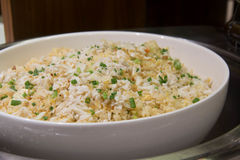 Crab meat fried rice stock images
