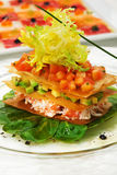 Crab Meat Salad Royalty Free Stock Images