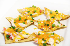 Crab nachos Stock Photos