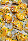 Crab Nachos Vertical Royalty Free Stock Image