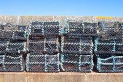 Crab nets Stock Image