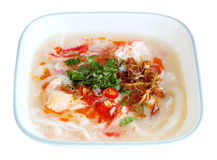 Crab Noodle Soup Royalty Free Stock Photos