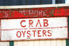 Crab Oysters Stock Photo