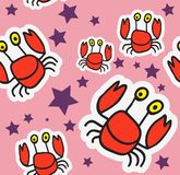 Crab Pattern Stock Photos