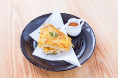 Crab pie Royalty Free Stock Images