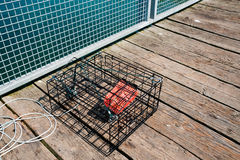 Crab pot Royalty Free Stock Photo