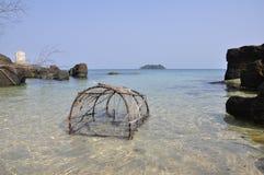 Crab Pot Stock Image