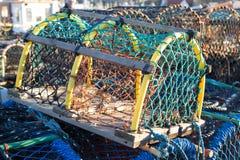 Crab pot Stock Photos