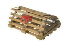 Crab Pot used to Catch Shellfish Royalty Free Stock Photos