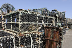 Crab Pots Stock Image
