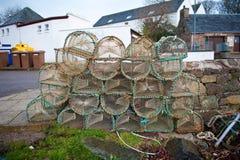 Crab pots Royalty Free Stock Image