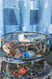 Crab Pots Royalty Free Stock Photos